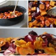 cuisiner l馮umes petits gratins de butternut à la polenta artichaut et cerise
