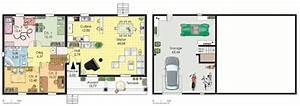 maison spacieuse 1 detail du plan de maison spacieuse 1 With dessin plan de maison 4 maison spacieuse detail du plan de maison spacieuse