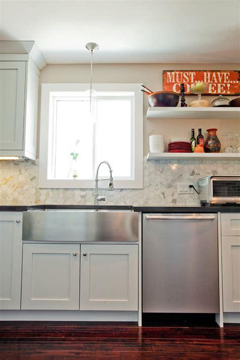 kitchen sinks with backsplash farmhouse sink with backsplash kitchen traditional with