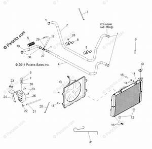 Polaris Side By Side 2013 Oem Parts Diagram For Engine
