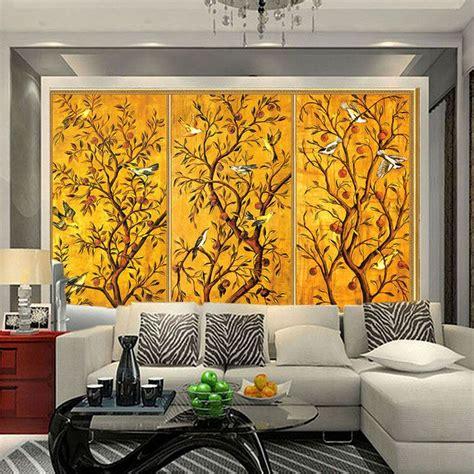 chambre commerce chine pas cher vintage papier peint personnalisé 3d peintures