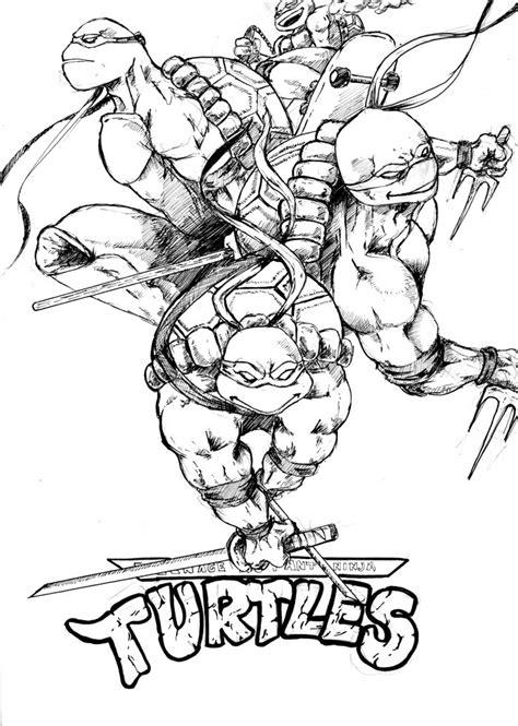 Ninja Turtles #129 (Superhéroes) Páginas para colorear