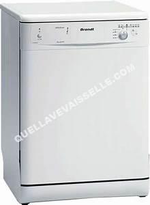 Lave Vaisselle Moins Cher : brandt dfm908we1 lave vaisselle moins cher ~ Premium-room.com Idées de Décoration