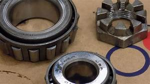 8n Ford Front Wheel Bearings  Part 1
