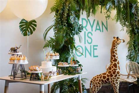karas party ideas minimalist safari birthday party kara