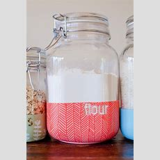 Diy Dipped Kitchen Jars  This Little Street  This Little