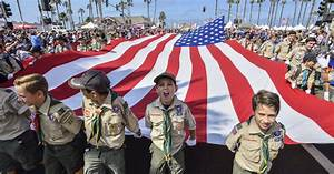 donation advertisement example boy scouts will finally allow girls to join mother jones