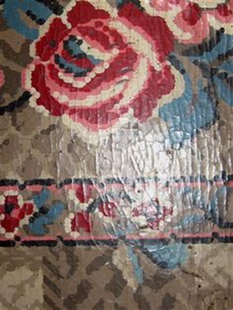 retro vinyl flooring vintage 1950 s linoleum patterns house and garden 1952