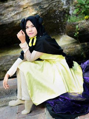 foto hijab cosplayer  indonesia hingga mesir