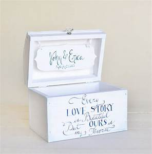 personalized wedding card box bridal shower keepsake box With personalized wedding shower gifts