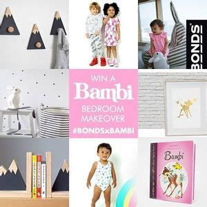 Win A Bambi Bedroom Makeover Worth $77945 From Bonds