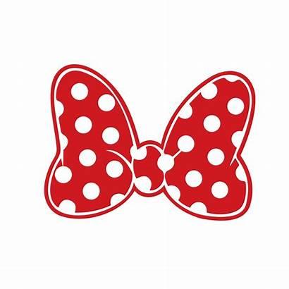 Minnie Mouse Bow Svg Cricut Silhouette Vector