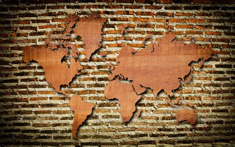 wood map wall world map carving on wood plank stock photo by ohmega1982 1600