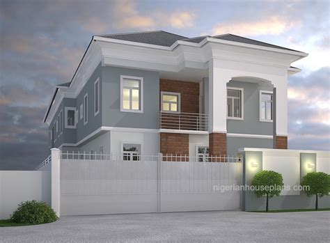 4 Bedroom Duplex Design In Nigeria