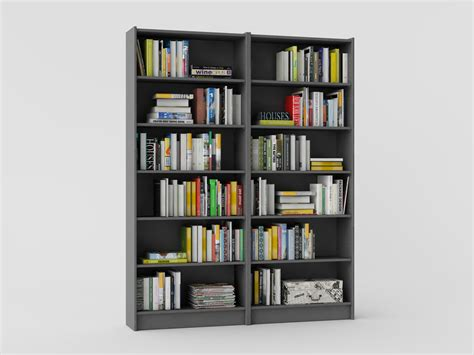 Ikea Bookcase Billy With Books  Models4d. Antler Coffee Table. 24 Bathroom Vanity With Drawers. Desks For Sale Amazon. Dell Desk Tops. Desk For High School Student. Cigar Table. Overstock Writing Desk. Tray Tables With Stand