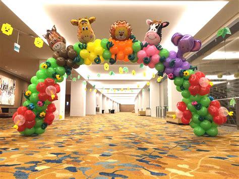 balloon columns  balloons