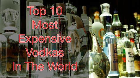 top   expensive vodkas   world russo baltique