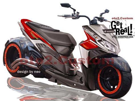 Honda Beat Modif by Modifikasi Motor Honda Beat Touring Thecitycyclist