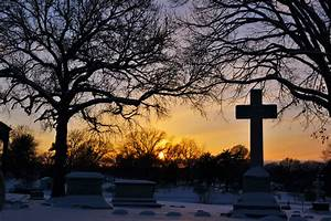 sunset at calvary cemetery of st louis southernmost sunset