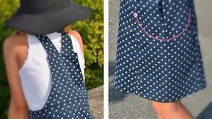 patron de couture pdf robe salopette enfant 2 ans 4 ans With patron robe fille 8 ans