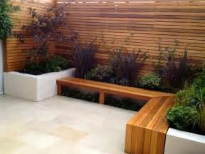 Patio Bench Seat by Sitzecke Im Garten Relax Im Gr 252 Nen