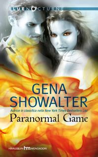 paranormal game  read   book  gena