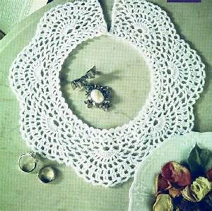 9 Easy Crocheted Collar Patterns Free