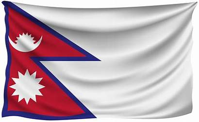 Nepal Flag Wrinkled National Flags Yopriceville Transparent