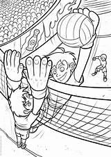 Volleyball Coloring Pallavolo Colorare Disegni Printable Voleibol Ausmalbilder Immagini Colorear Mycoloring Kostenlos Q3 Stampa Imprimir Books sketch template