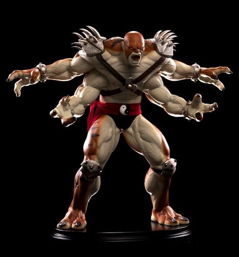 Pcs Mortal Kombat Kintaro Statue Info And Pics The