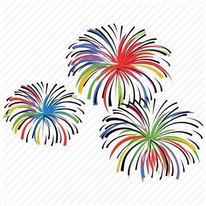 Icon Firecracker Celebrate Icons Firework Clipart Birthday