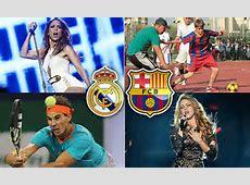 Real Madrid vs Barcelona celebrity fans Justin Bieber
