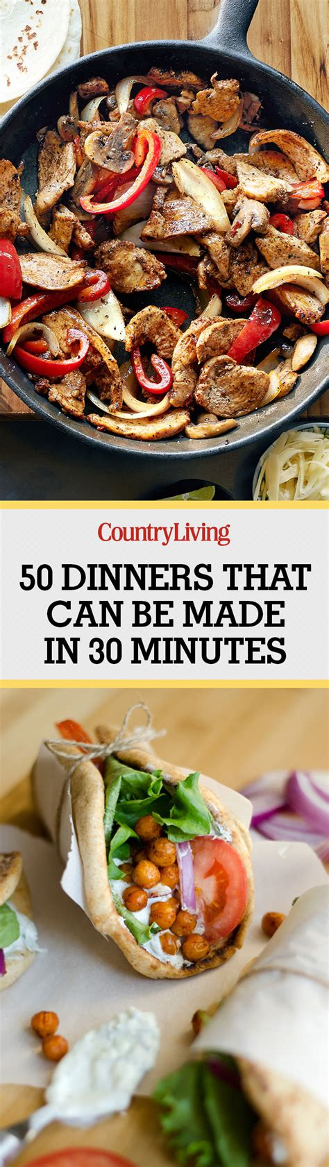 cuisine minute 90 and easy dinners best recipes for 30 minute meals
