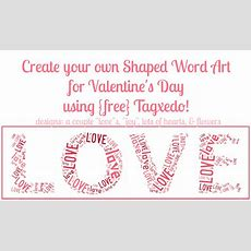 Free Shaped Word Art Online {valentine's Day Edition}  The Love Nerds