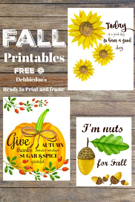 Fall Quotes And Printables Debbiedoos