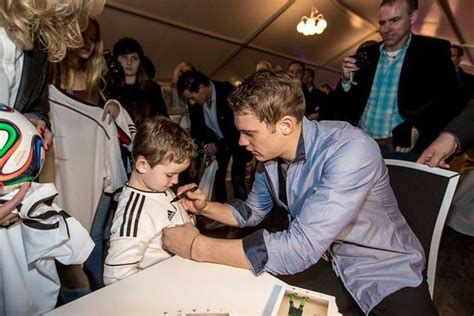 Manuel Neuer Foundation manuel neuer foundation and kid on