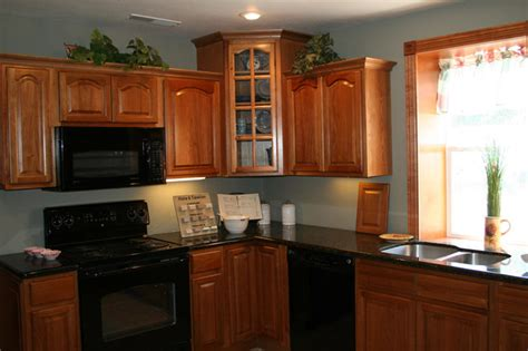 hickory kitchen cabinets home design traditional
