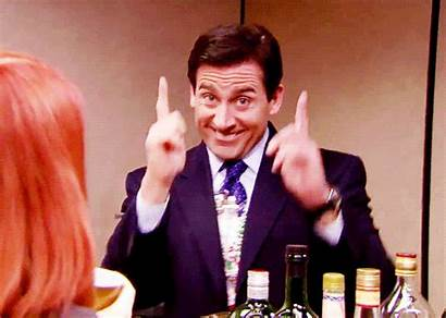 Office Michael Scott Drinking Gifs Christmas Party