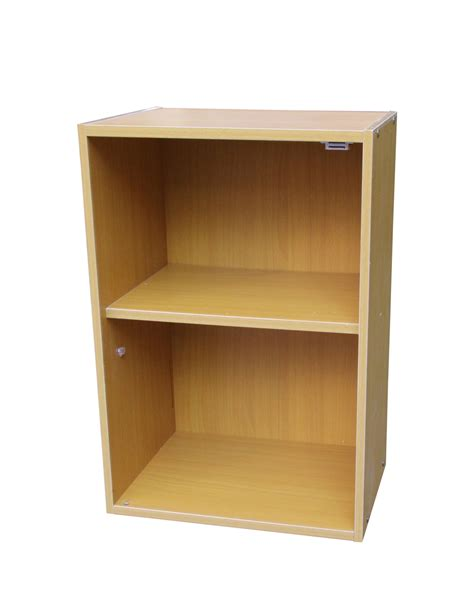 Bookcase 2 Shelf by 2 Tier Adjustable Book Shelf