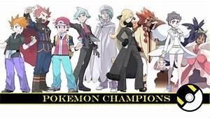 All Pokemon Champions by Tom Salazar