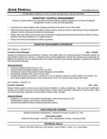 inventory management assistant resume sales inventory
