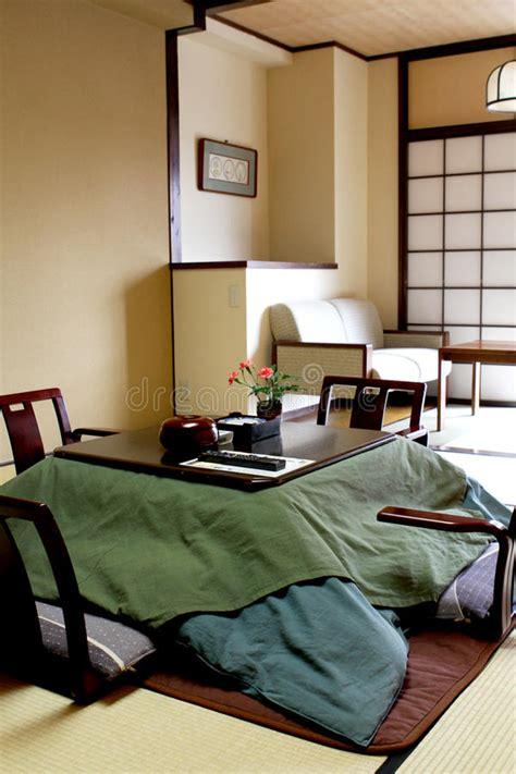 Traditionelles Japanisches Schlafzimmer Stockbild Bild