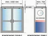 Besam Porte Automatique : portes battantes besam ~ Premium-room.com Idées de Décoration