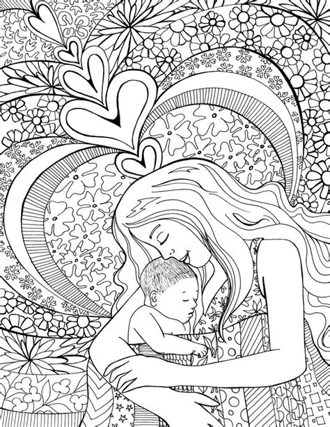 128 best mom coloring images on pinterest coloring books