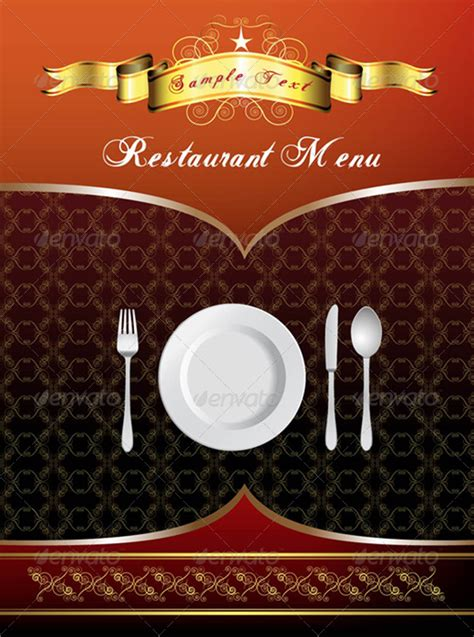 menu card design  merlinul graphicriver
