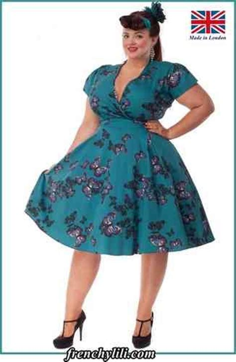 robe d interieur grande taille robe vintage estella butterfly de vintage robe grande taille robe retro swing fifties