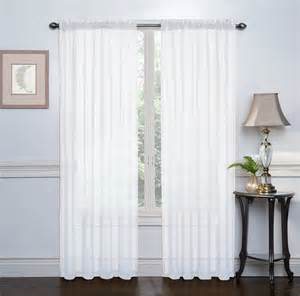 hlc me white 2 pack 108 quot inch x 84 quot inch window curtain sheer panels new ebay