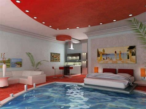 awesome bedroom   pool  house decor   love pool bedroom awesome