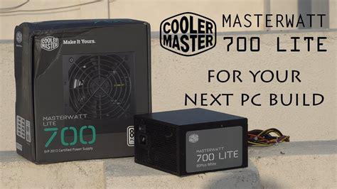 cooler master masterwatt lite 700w power supply for next
