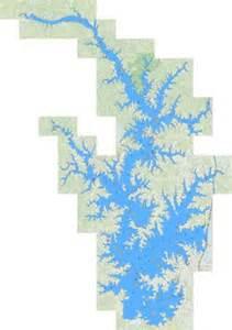 Lake Norman Fishing Map